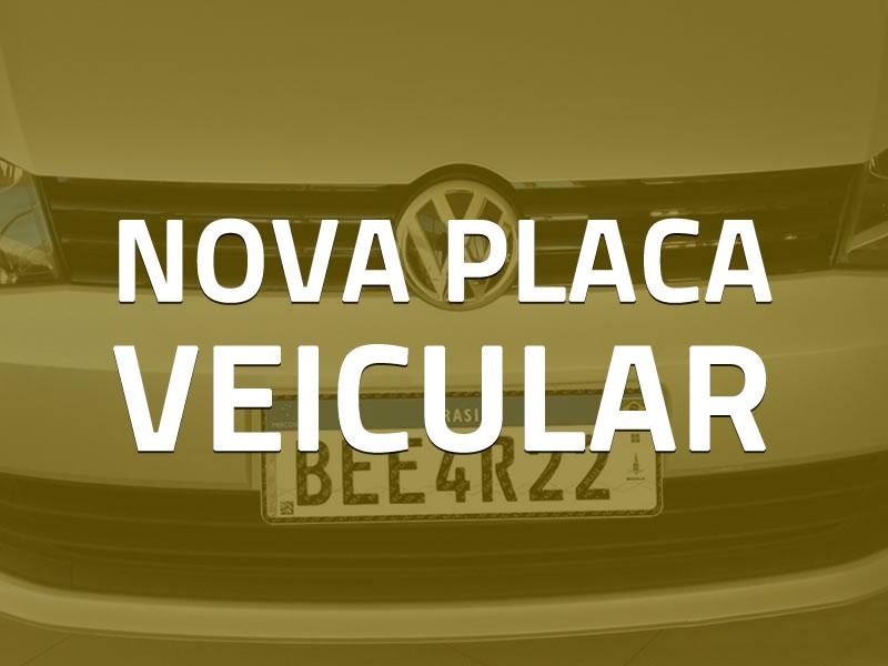 Novas placas veiculares no Brasil